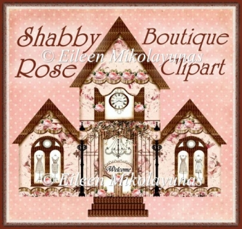 Shabby Rose Boutique Clipart