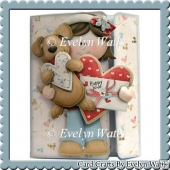 Puppy Love Off Set Gatefold Card Kit