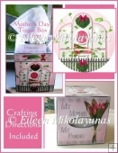 Cottage Chic Mother's Day Kleenex Brand Tissue Box Cover