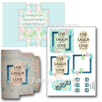 Live Laugh Love Swing Card