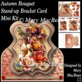 Autumn Bouquet - Stand-up Bracket Card Mini Kit