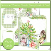 Christmas Morning Delight Fancy Gatefold Card