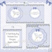 SWEET BABY BOY FOLDBACK CARD