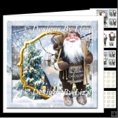 Hey Ho It's Off To Work We Go Christmas Card Mini Kit
