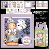 Halloween Chloe Topper & Treat Box Mini Kit