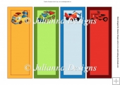 Boys Book Marks 1