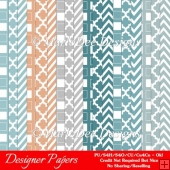 Modern Hues Pkg1 Digital Designer Patterns Scrapbooking Papers