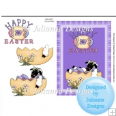 Easter Lamb Card Topper