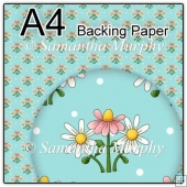 ref1_bp607 - Turquoise Daisy Flowers