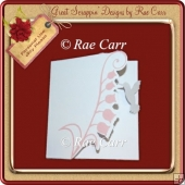 457 Hummingbird Flower Card *Multiple MACHINE Formats*