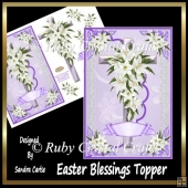 Easter Blessings Topper