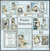 Winter Memories Mini Book Journal Kit with Directions