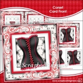 Corset Card Front and Insert
