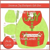 Christmas Joy Backpack Gift Box