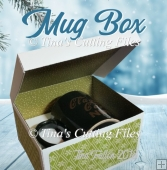 Mug Gift Box from A3 card