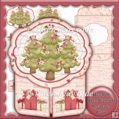 Heartfelt Xmas Gatefold Pyramage Card