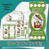 Bear Cracker Card Kit
