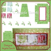 Oblong Joy Xmas Picture Box