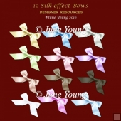 Silk Effect Bows