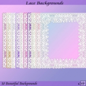 Lace Backgrounds CU