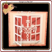 578 Chandelier Window Card *Multiple MACHINE Formats*