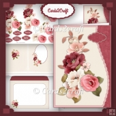 Olivia Rose wavy edge card set