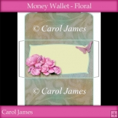 Money Wallet - Floral