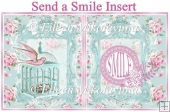 Send a Smile Card Insert/Topper