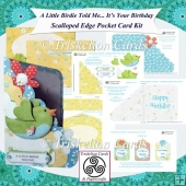 A Little Birdie Told Me... It's Your Birthday Pocket Card Kit