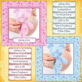 2 Pregnancy Card Fronts