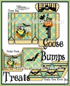 Halloween GOOSE BUMPS Treat Collection