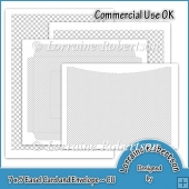 Easel Card and Envelope Template