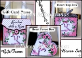 Be Mine Collection of 3 Favor Gift Boxes