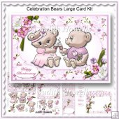 Celebration Bears Large Card Kit