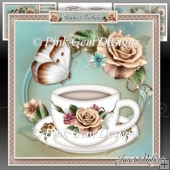 Champagne Roses Tea Time Mini Kit
