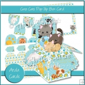 Cute Cats Pop Up Box Card