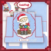 Santa stepper card 2