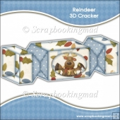 Reindeer 3D Cracker Gift Box