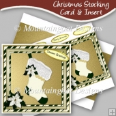 Christmas Stocking Card & Insert
