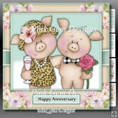 Piggin Anniversary, Valentine, Wedding, Engagement Mini Kit