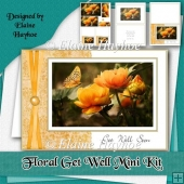 Floral Get Well Soon Mini Kit