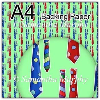 ref1_bp329 - Green Mens Tie Fathers Day