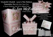 WONDERFULL WINDMILL - LACEY IN PINK CHRISTMAS PRESENTATION BOX