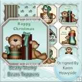 Beary Merry Bears Toppers