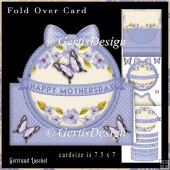 Over the edge card kit purple