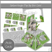 Gallant Knight Pop Up Box Card