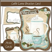 Caffe Latte Bracket Card
