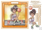 Basketball Anyone? - Square Card Topper & Decoupage