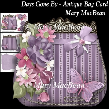 Days Gone By - Antique Bag Card