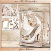3 in 1 The Wedding Shoe